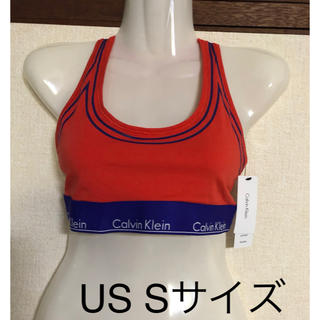 Calvin Klein - カルバンクライン スポーツブラ オレンジ