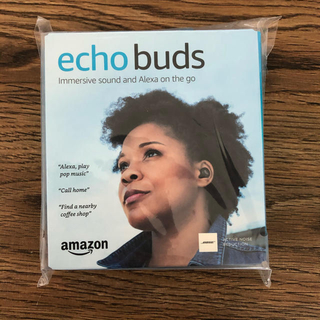 エコー(ECHO)の[新品/未使用]  (日本未発売) Amazon Echo Buds  (ヘッドフォン/イヤフォン)