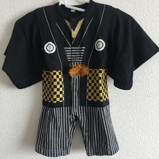 羽織袴風ロンパース(和服/着物)