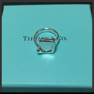 ティファニー(Tiffany & Co.)のティファニー エルサペレッティスプラッシュスクエアリング(リング(指輪))