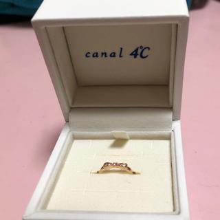 カナルヨンドシー(canal4℃)の4℃ピンキーリング(リング(指輪))