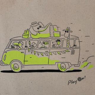 Volkswagen - トートバッグ ワーゲン