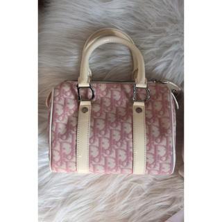 クリスチャンディオール(Christian Dior)の週末セール レア Dior ディオールのミニボストンバッグ(ボストンバッグ)
