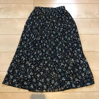 グレイル(GRL)の新品♡GRL小花柄 プリーツスカートM(ロングスカート)