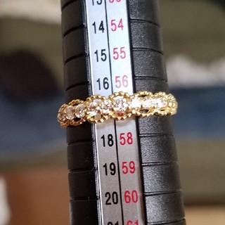 ハーフエタニティリング 18金 #17(リング(指輪))