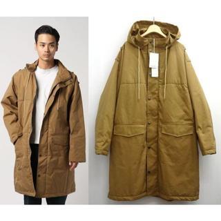 コモリ(COMOLI)のオーラリー AURALEE 18AW 新品 HOODED COAT コート 5(ステンカラーコート)