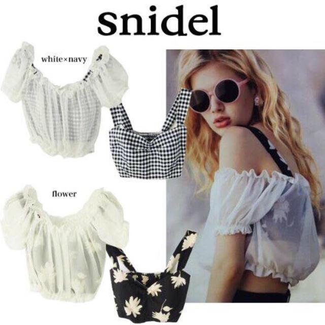snidel(スナイデル)のsnidel♡ レディースのトップス(その他)の商品写真