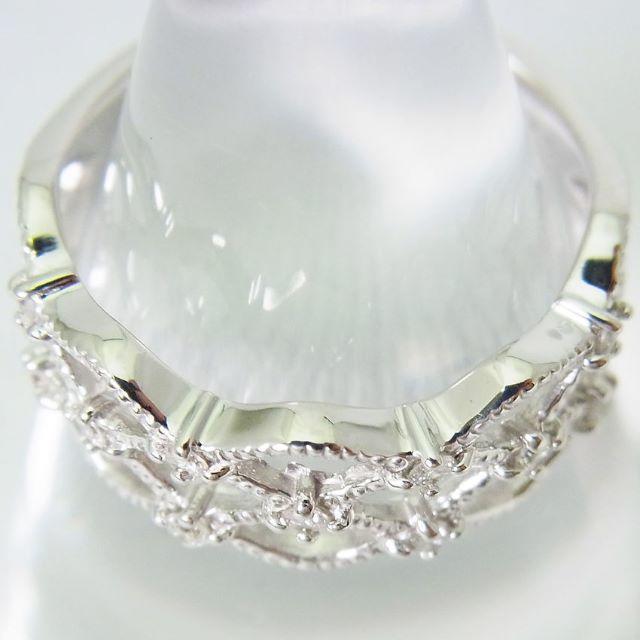 K18WG ダイヤモンド リング 10.5号 [g88-6] レディースのアクセサリー(リング(指輪))の商品写真