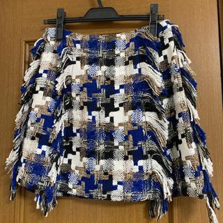 チェスティ(Chesty)のチェスティ☆ツイードスカート☆新品タグ付き(ミニスカート)