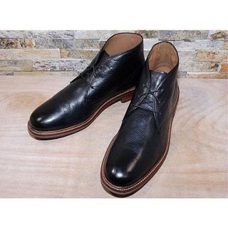 コールハーン(Cole Haan)のコールハーン プレーントゥチャッカブーツ 黒 28,529cm US11M(ブーツ)
