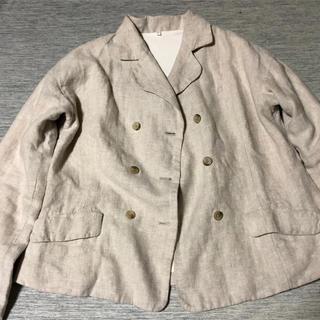 無印良品 リネン ジャケット 最終価格❗️