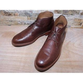 コールハーン(Cole Haan)の美品 コールハーン プレーントゥチャッカブーツ 茶 28,529cm(ブーツ)