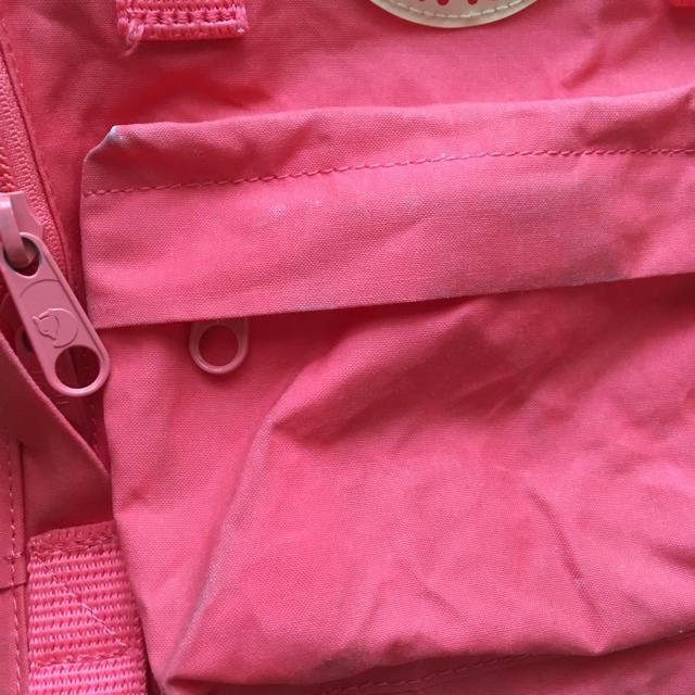 FJALL RAVEN(フェールラーベン)のフェールラーベン ミニリュック ピーチピンク キッズ/ベビー/マタニティのこども用バッグ(リュックサック)の商品写真