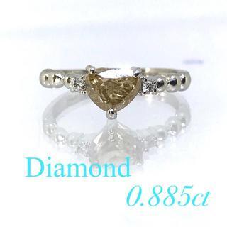 ★SALE★ハートダイヤモンド 大粒 0.8カラット プラチナ製 リング(リング(指輪))