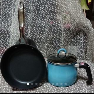 マイヤー(MEYER)の片手鍋(和平フレイズ)&マイヤーサーキュロン21cmフライパン2点セット(鍋/フライパン)