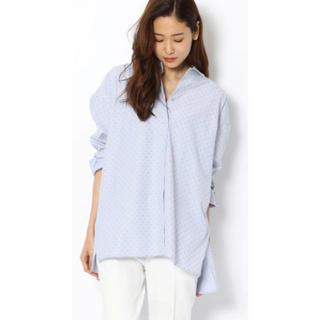 エディション(Edition)のBACCA  ストライプドットジャガードシャツ(シャツ/ブラウス(長袖/七分))