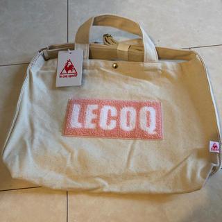 ルコックスポルティフ(le coq sportif)のle coq sportif/ルコック サガラ2ウェイ手提げパンプトート(トートバッグ)