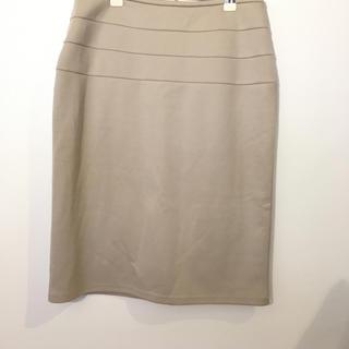 salire ウエストライン入りタイトスカート#Cattleya(ひざ丈スカート)
