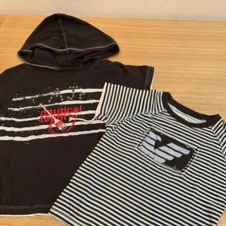 エンポリオアルマーニ(Emporio Armani)のアルマーニ キッズ tシャツ  二枚セット(Tシャツ/カットソー)