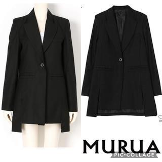 ムルーア(MURUA)の《SALE》 《新品》MURUA  サイドスリットロングジャケット(テーラードジャケット)