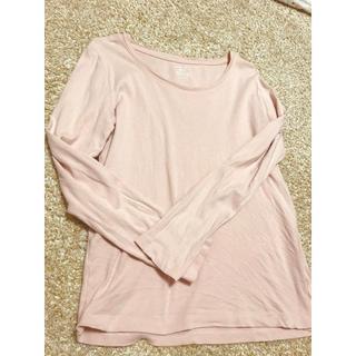 ジーユー(GU)のGU♡シンプルロンT/インナーにも可能(Tシャツ(長袖/七分))