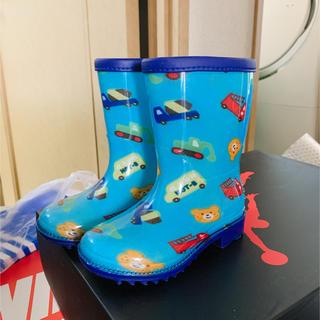 ミキハウス(mikihouse)の新品 ミッキーマウス レインブーツ 14cm (長靴/レインシューズ)