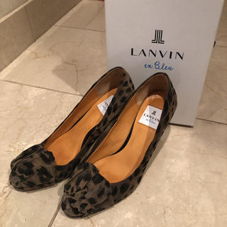 ランバンオンブルー(LANVIN en Bleu)のランバンオンブルー  パンプス  23.5(ハイヒール/パンプス)