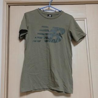 ニューバランス(New Balance)のnew balance カーキTシャツ Mサイズ(Tシャツ(半袖/袖なし))