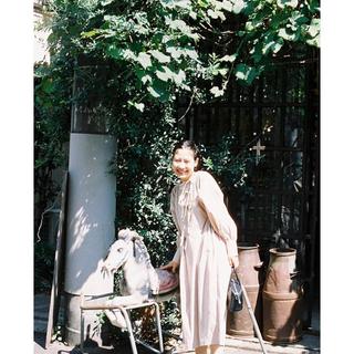 アトリエドゥサボン(l'atelier du savon)の最終値下げ ir リボンワンピース(ロングワンピース/マキシワンピース)