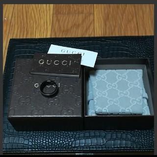 グッチ(Gucci)のグッチ アイコンリングブラックコランダム(リング(指輪))