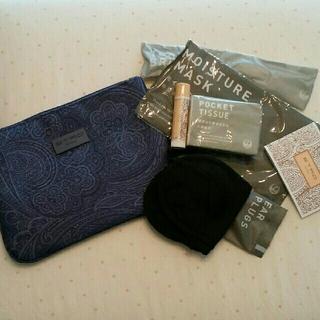 エトロ(ETRO)のJAL国際線ビジネスクラストラベルポーチ エトロポーチ 化粧ポーチ 旅行鞄 (旅行用品)