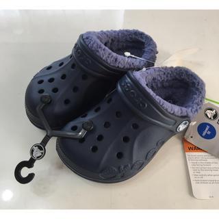 クロックス(crocs)の新品 クロックス サンダル ボア 17.5㎝ (サンダル)
