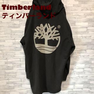 ティンバーランド(Timberland)の【激レア】ティンバーランド 【ビッグロゴ】【パーカー 】【ブラック】(パーカー)