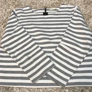 ジーユー(GU)のボーダーロンT GU(Tシャツ(長袖/七分))