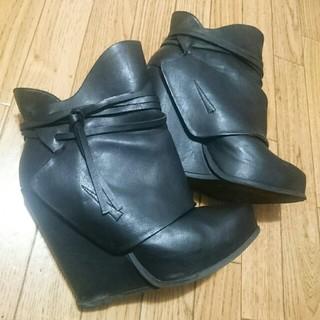ローズバッド(ROSE BUD)のROSEBUD(DEPP)レザーショートブーツ(ブーツ)