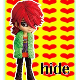 バンプレスト(BANPRESTO)のQposket hide フィギュア  X JAPAN (ミュージシャン)