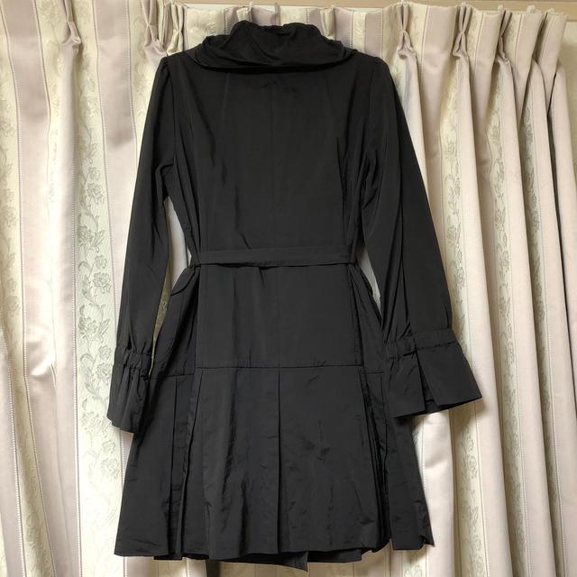 TO BE CHIC(トゥービーシック)のトゥービーシック コート 黒 42 レディースのジャケット/アウター(その他)の商品写真