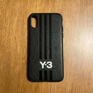 ワイスリー(Y-3)のY-3 iPhone X用レザーケース MOULDED CASE LEATHER(iPhoneケース)