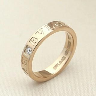 ブルガリ(BVLGARI)の人気品♥安値! ブルガリ リング(指輪) 刻印 本物 男女共用(リング(指輪))