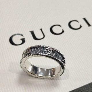 Gucci - 刻印 GUCCI グッチ リング 14号 綺麗