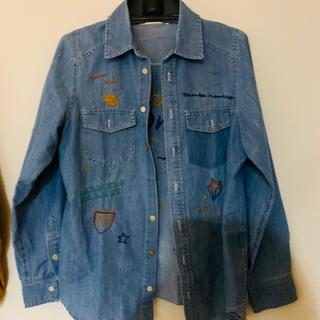 ダブルクローゼット(w closet)のデニムシャツ(Gジャン/デニムジャケット)