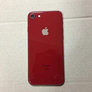 アイフォーン(iPhone)のiPhone8 64GB レッド 美品(スマートフォン本体)