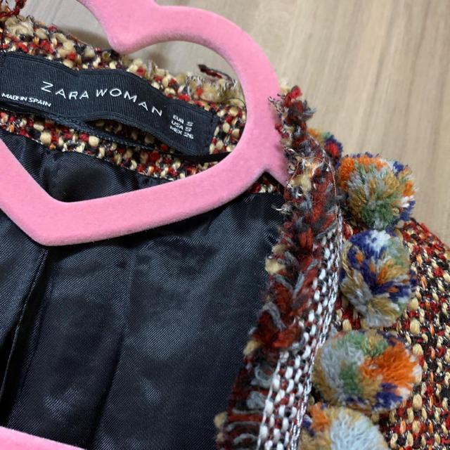 ZARA(ザラ)のZARA♡ツイードジャケット レディースのジャケット/アウター(ノーカラージャケット)の商品写真
