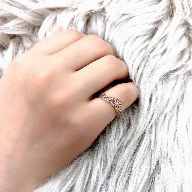 ディズニー ティアラ リング レディースのアクセサリー(リング(指輪))の商品写真