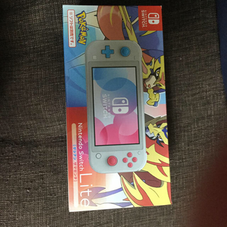 ニンテンドースイッチ(Nintendo Switch)のNintendo Switch Lite ザシアン・ザマゼンタ(家庭用ゲーム機本体)
