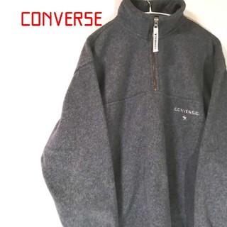 コンバース(CONVERSE)のConverse フリース ネイビー ハーフジップ  プルオーバー型(その他)