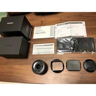フジフイルム(富士フイルム)のあおちゃん様専用 Fujifilm XF18mm F2 美品(レンズ(単焦点))