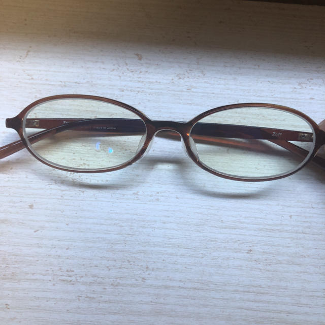 Zoff(ゾフ)のゾフ ブルーライトカット  メガネ レディースのファッション小物(サングラス/メガネ)の商品写真
