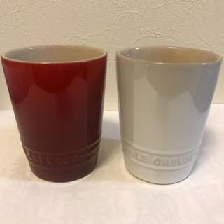 ルクルーゼ(LE CREUSET)のル・クルーゼ  ショートタンブラー【新品未使用】ペアカップ(タンブラー)
