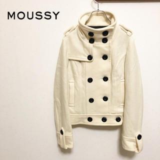 マウジー(moussy)の★【MOUSSY】スタンドカラー ショート ウールコート(その他)